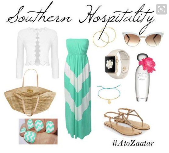 Southern Date Look.