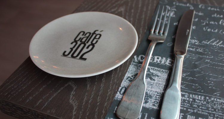 Cafe 302: Nice lunch spot in the city.
