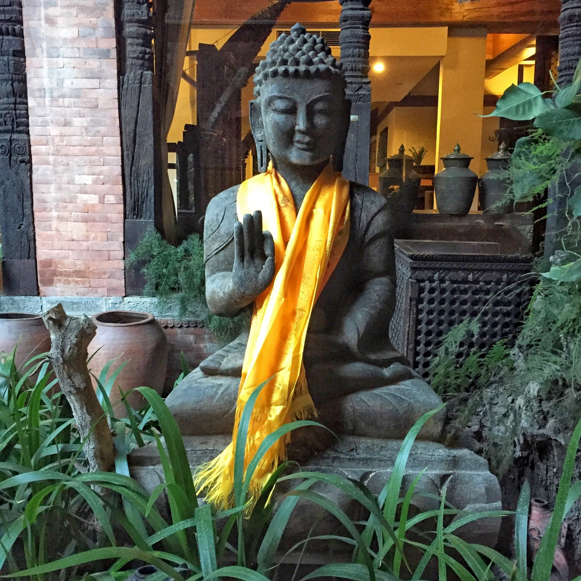 Dwarika's Hotel in Kathmandu.