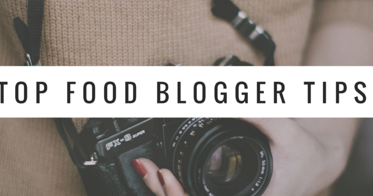 A to Za'atar's tips on food blogging.