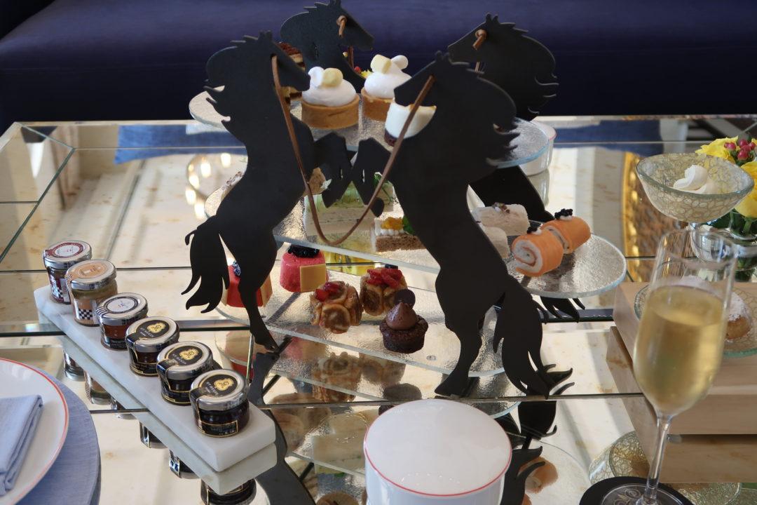 St. Regis Dubai, Al Habtoor Polo & Resort Club: Afternoon delights.