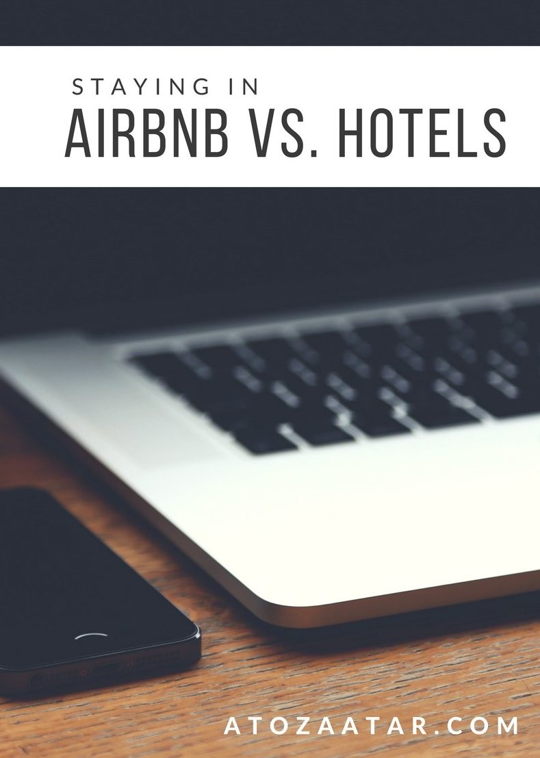 Staying in a Airbnb vs. Hotel: Which is right for you?