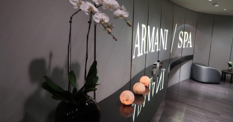Armani Spa: Luxury in the dark.
