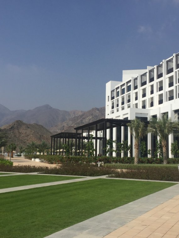 Intercontinental Fujairah: A property without an identity.