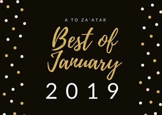 My Top Dishes of January 2019.