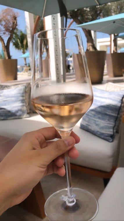 Drift Beach, Provence cuisine.