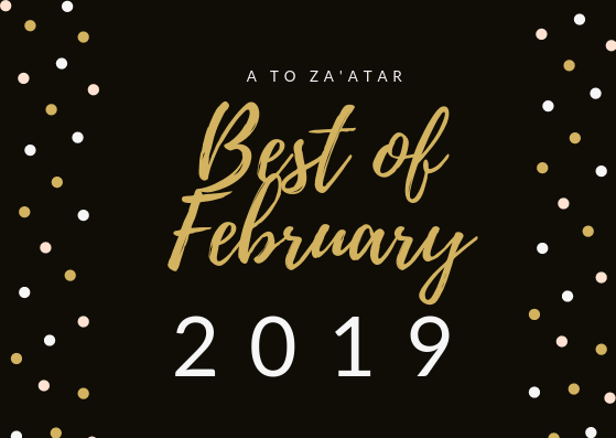 My Top Dishes of February 2019.