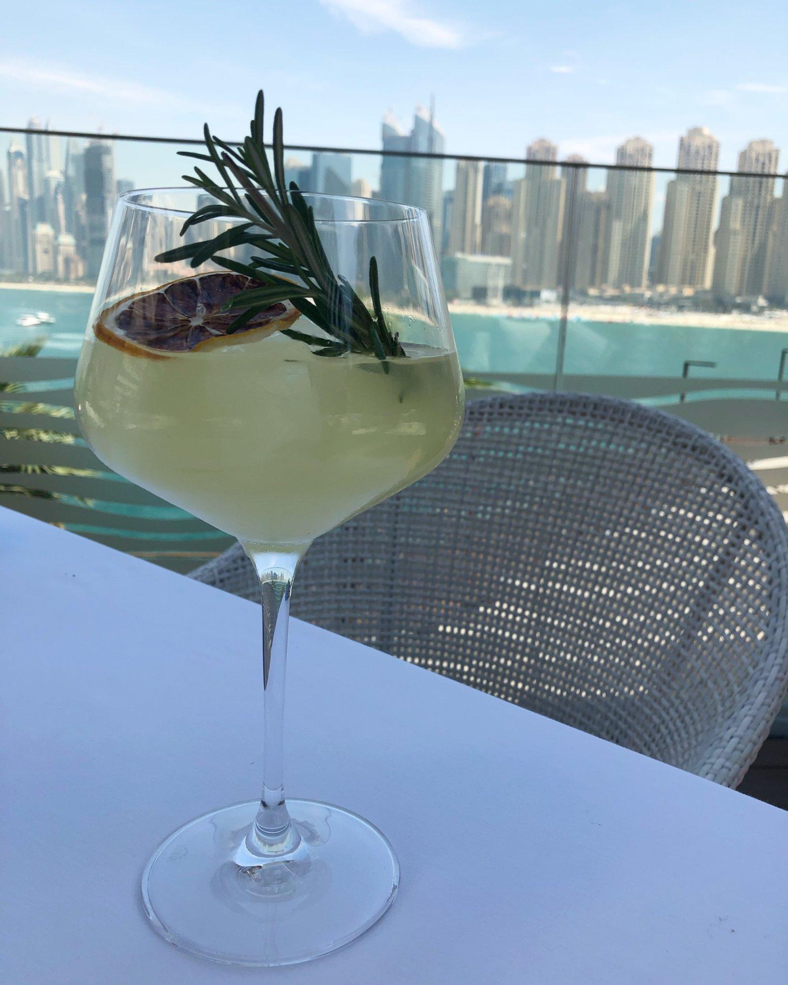 Alici, subtle flavors at Bluewaters Dubai.